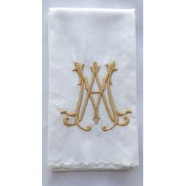 Purificator golden Marian emblem - 100% cotton