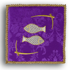 "Chalice pall violet ""Fish"" (30)"