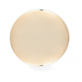 Paten smooth, gilded, dia. 25 cm