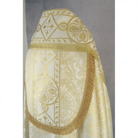 Embroidered cope with Roman pattern (83)