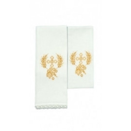 Chalice Linen Sets - gold cross (4)