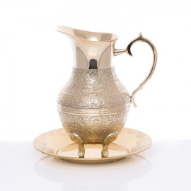 Brass pitcher - Baptism