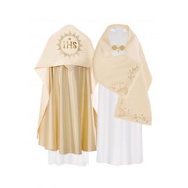 Satin veil - gold IHS (35)