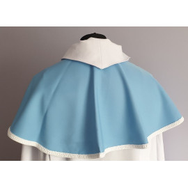 Altar Boy's cloak/ hood, blue, Marian