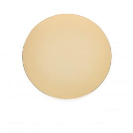 Paten plain, gilded, dia. 10 cm