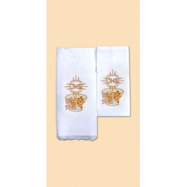Chalice Linen Sets - gold IHS  (26)