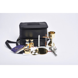 Travel set for priest - celebrant's suitcase (19)