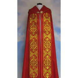 IHS Embroidered cope - Liturgical Colors (50)
