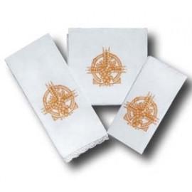 Chalice Linen Sets - gold Eucharistic symbol (33)