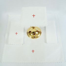 Chalice Linen Sets - red cross (34)