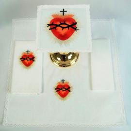 Chalice Linen Sets - Sacred Heart  (37)