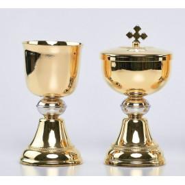 Mini chalice set + ciborium (6)