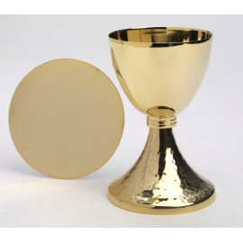 Chalice + Paten, gold-plated - 19.5 cm (11)