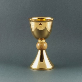 Gilded tourist cup - 16 cm (16)
