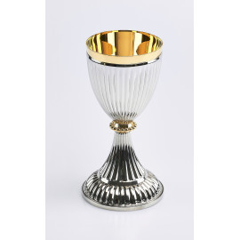 Silver-plated chalice - 8.5x18 cm (22)