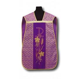 Roman chasuble violet (10)